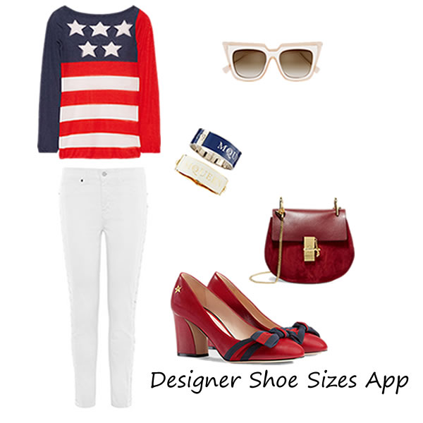 4th of July 2016 Outfit with Baldinini Shoes