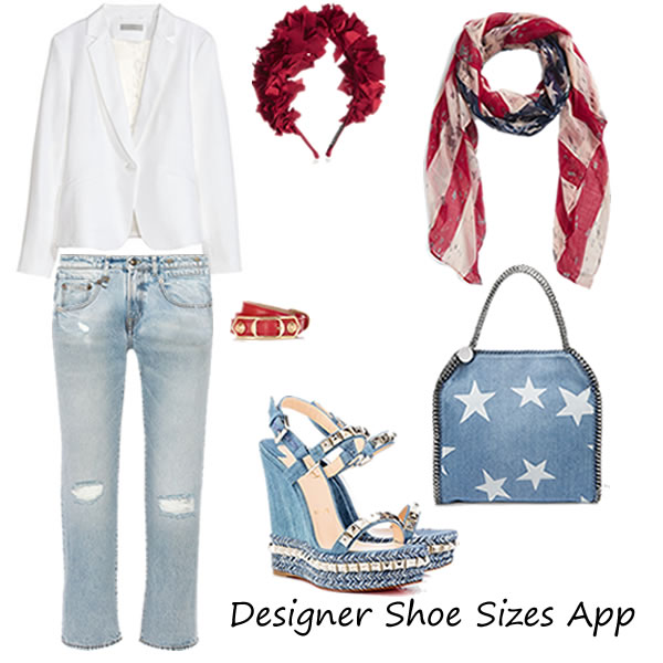 4th of July 2016 Outfit with Christian Louboutin Shoes
