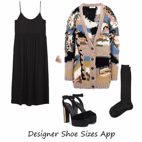 "Fall-winter 2016 outfit with Giuseppe Zanotti shoes ""BETTY"""