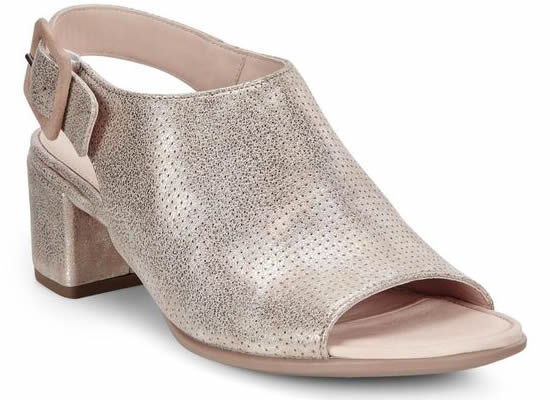 ECCO Shape 35 Block Slingback MOON ROCK